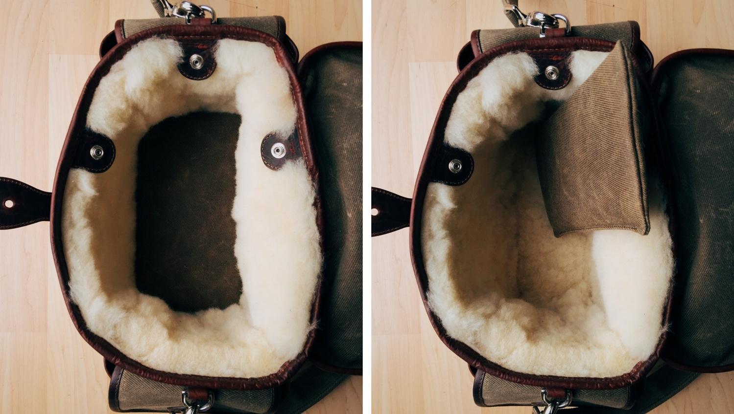 holdfast Fundy Streetwise Camera Bag False Bottom