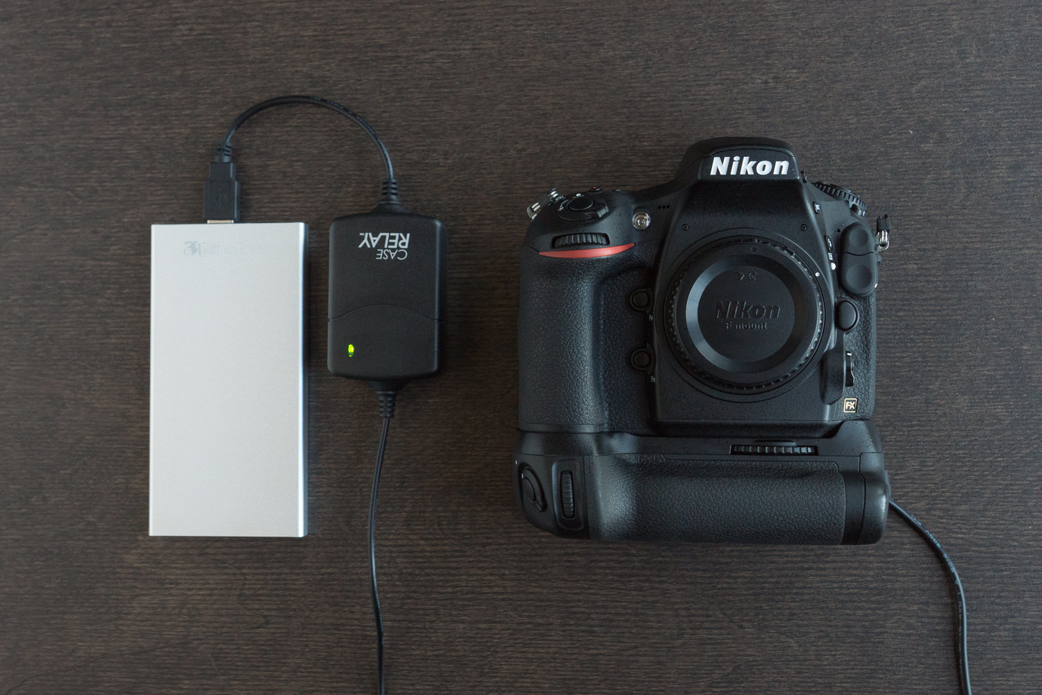 Leave Your Camera Batteries at Home With the New Case Relay
