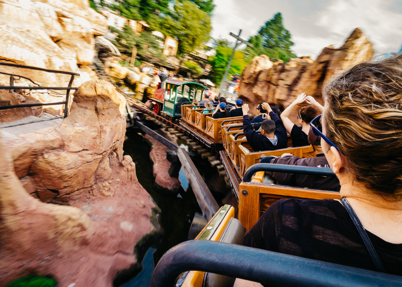 Photo of Big Thunder Mountain Railroad at Disneyland taken by a Leica T