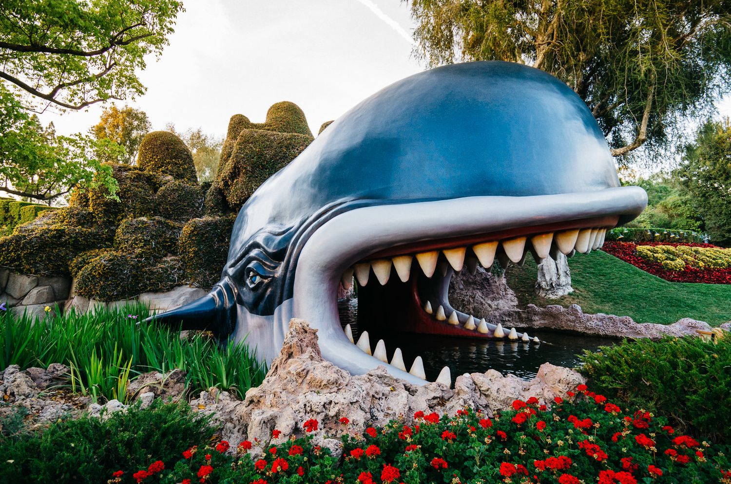 Storybook Land Canal Boats' Monstro the Whale from Pinocchio