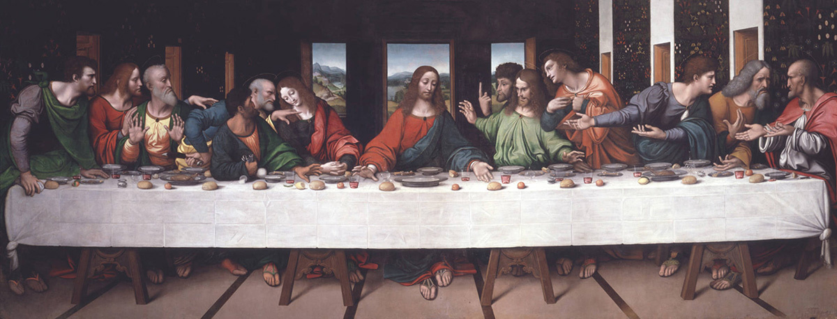 On the trail of the last supper - Journal of ART in SOCIETY The last supper photography