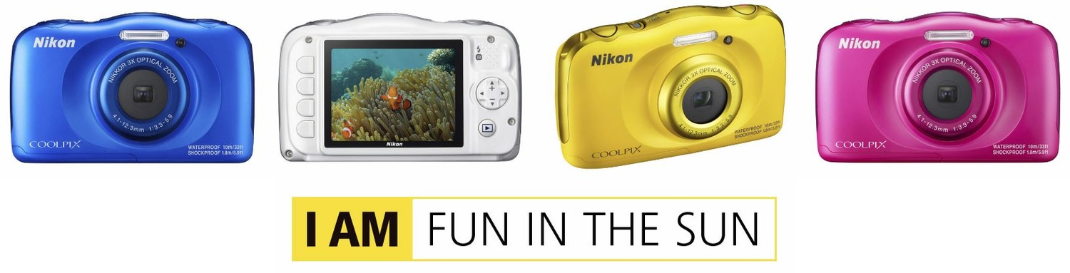 nikon coolpix w100 colors