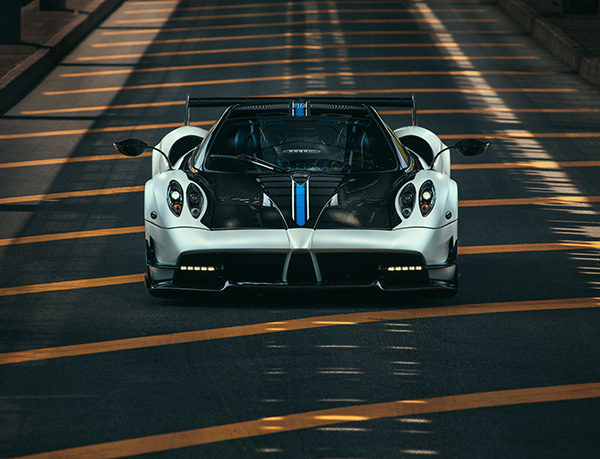 Pagani Huayra BC Profoto Phase One Automotive Photography Fstoppers Urban Supercar Hyper Car