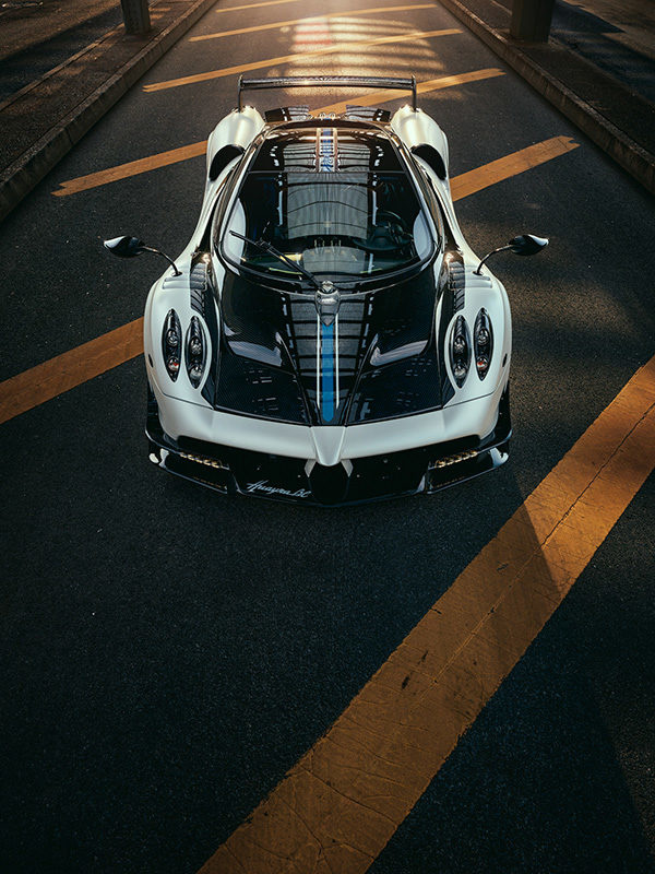 Pagani Huayra Hyper Car Supercar profoto phase one fstoppers automotive photography