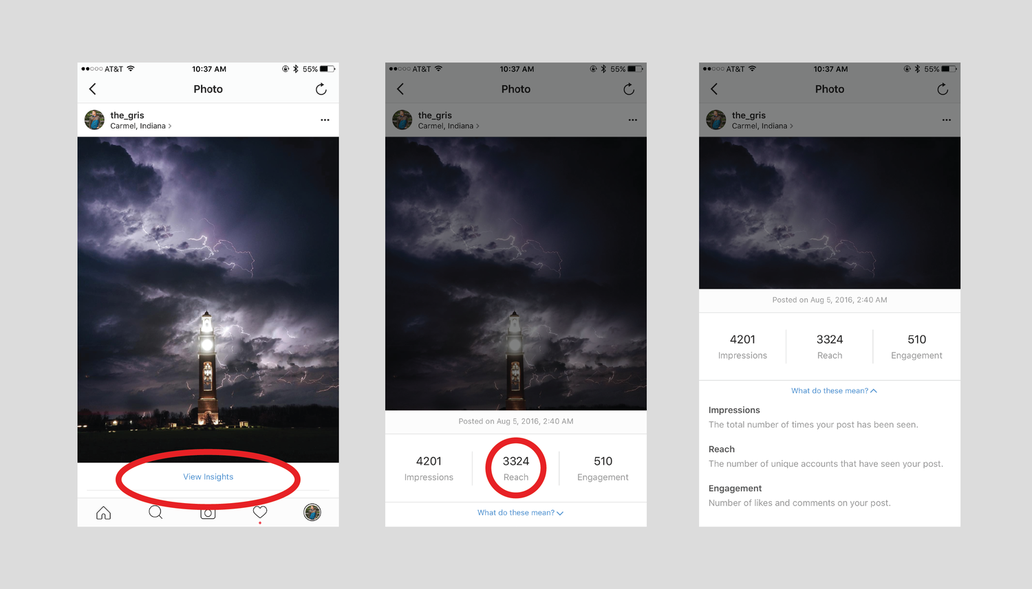 How to access instagrams powerful analytic insights right now one last piece to this switch into a business page is that you are forced to add a contact cta to your profile page this can be assigned to either a ccuart Gallery