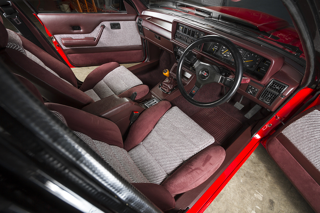 Interior of the VH SS Holden Commodore