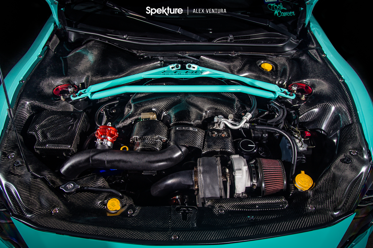 Spekture - Engine Bay of Stay Minty FRS