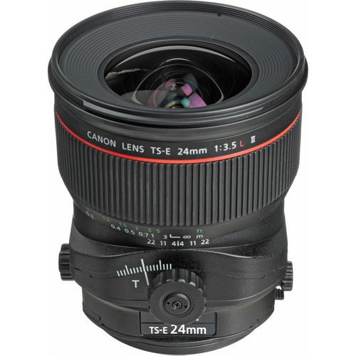Canon TS E 24mm F/3.5L II Tilt Shift Lens