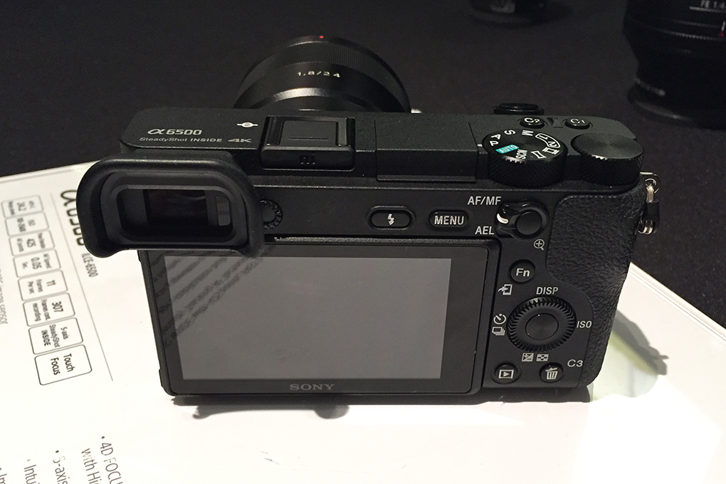 Sony Announces A6500 Mirrorless Camera With Touchscreen And 5 Axis Image Stabilization