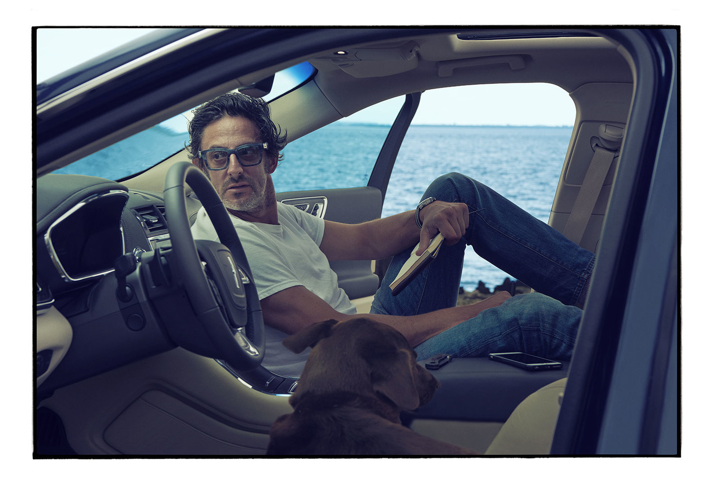 That's Continental, photographed by Annie Leibovitz
