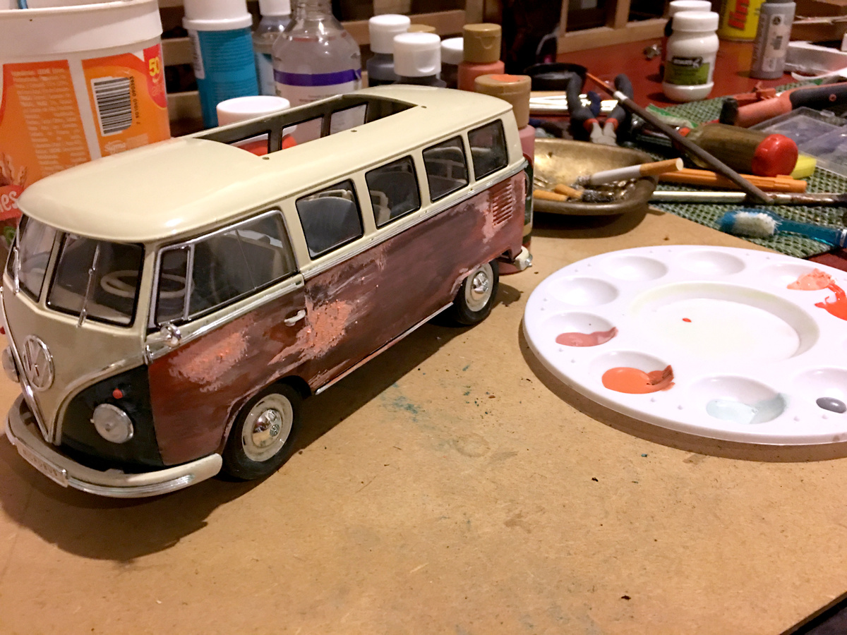 vw bus transformation