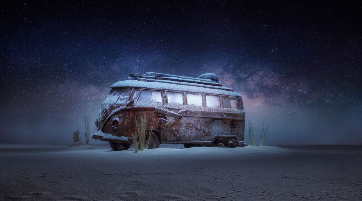 Inner Trip vw bus project Hernandez Dreamphography