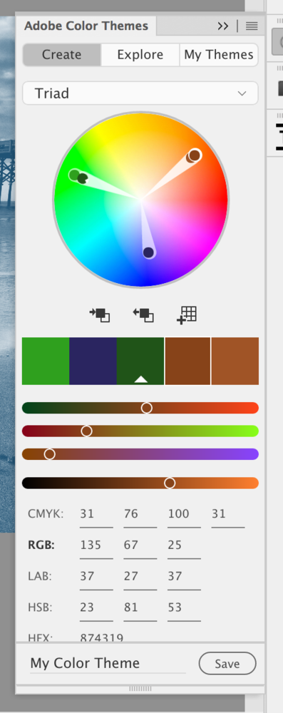 Using Adobe's Kuler Tool to Color Tone Images