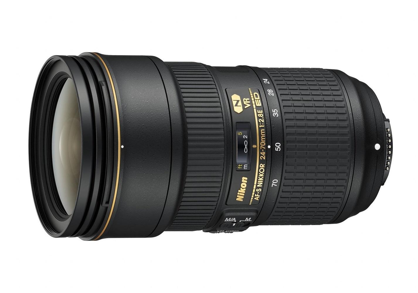 Nikon 24–70mm lens