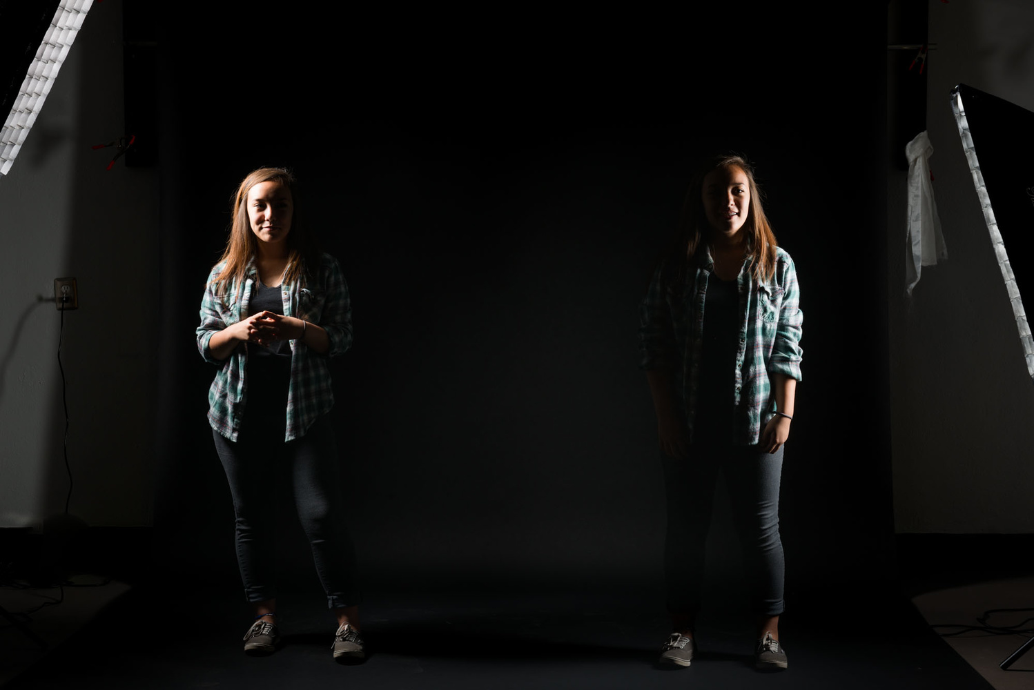 Testing Lights With An Eighth Grade Job Shadower Can Be Fun
