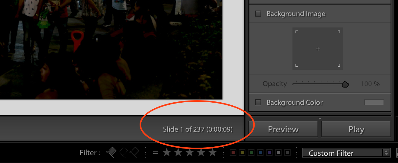 Based On The Fame Rate And Number Of Images Selected For Your Sequence Lightroom Will Provide Length Video Once Output Save Timelapse