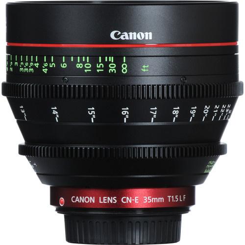 Canon cine 35mm T1.5
