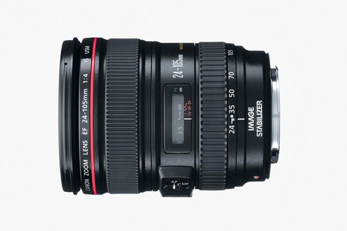Canon 24-105 EF lens