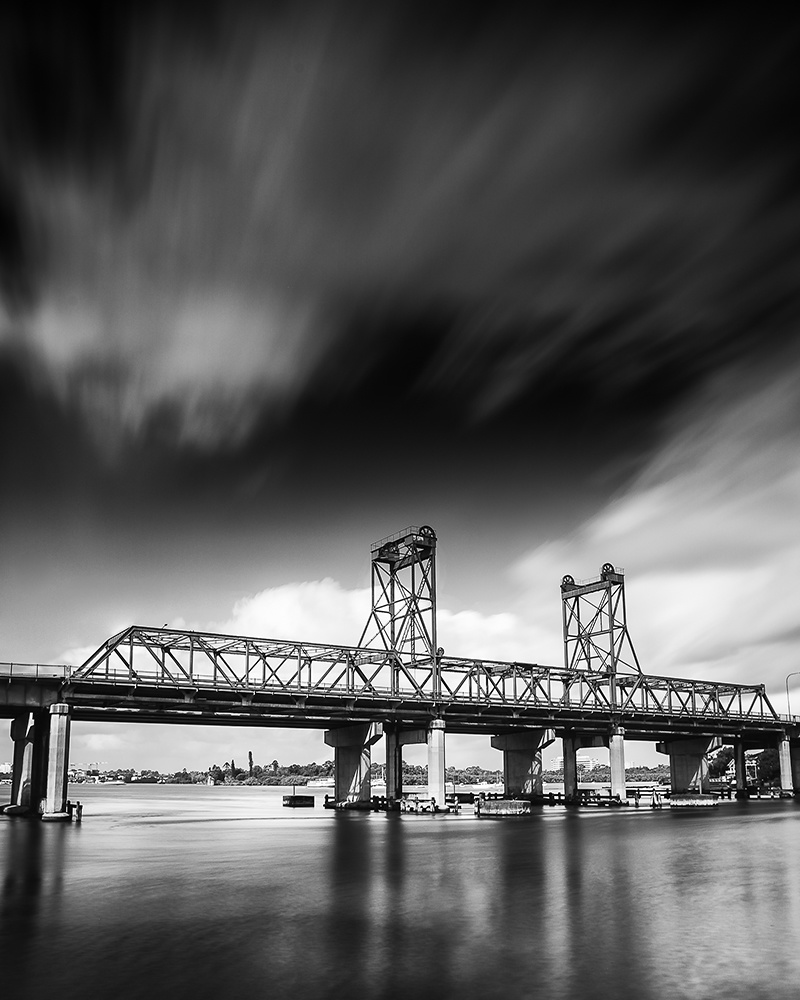 Long exposures black and white landscape photography
