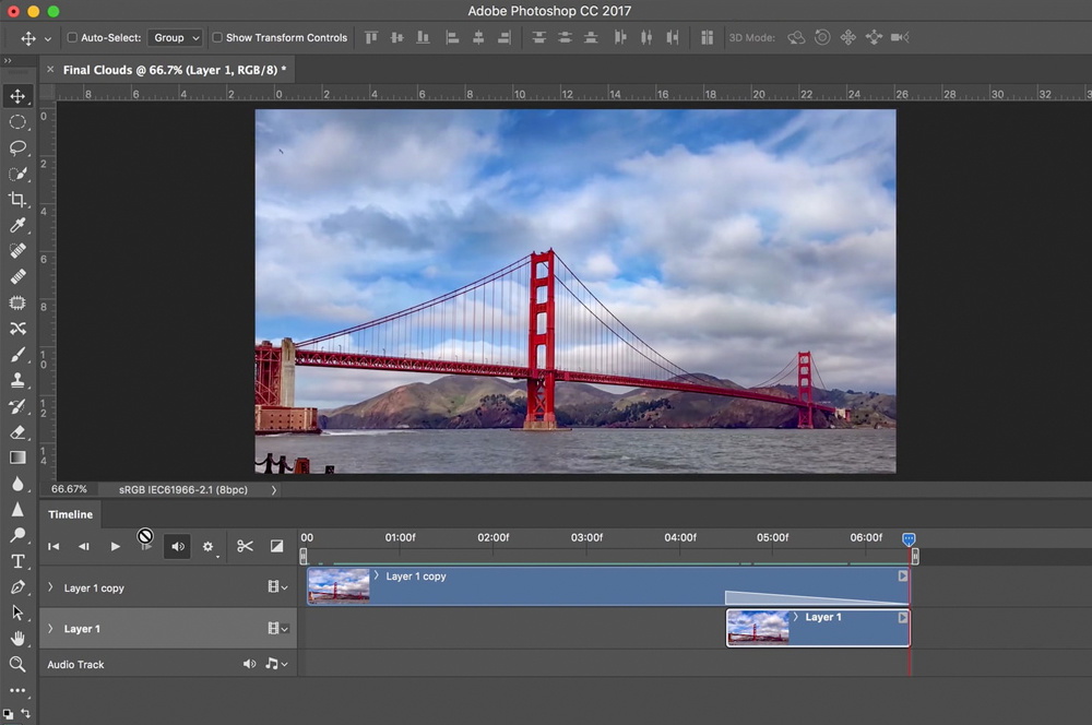 Creating Infinitely Looping Videos for Instagram With Just Photoshop