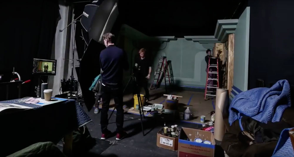 Mark Seliger 2017 Oscars set