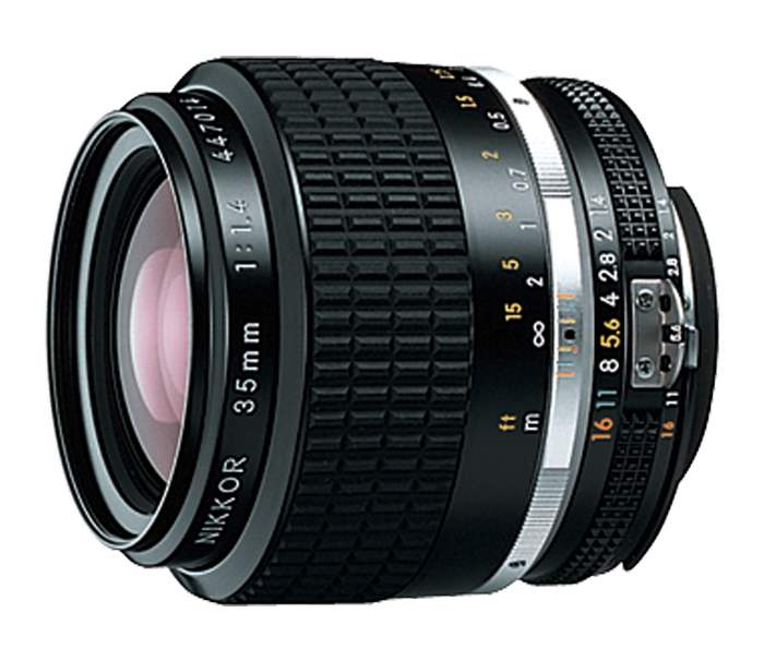 NIKKOR 35mm f/1.4 Lens.