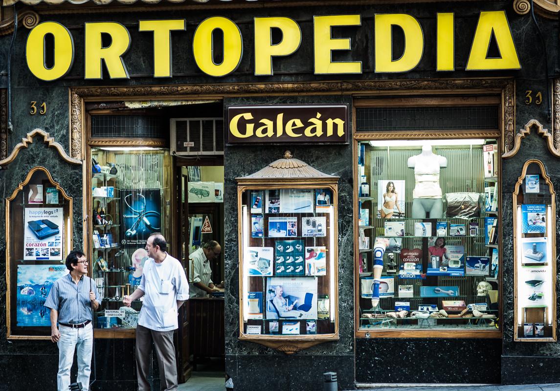 Orthopedic shop