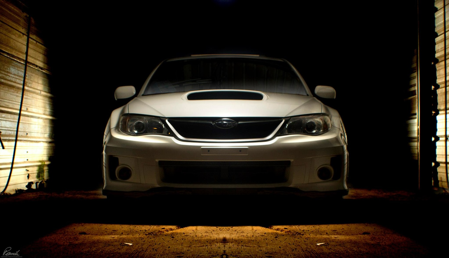 Subaru Composite automotive photography photoshop adobe lightroom