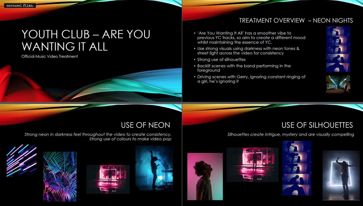 How to write treatment for a music video pitch fstoppers for Video treatment template