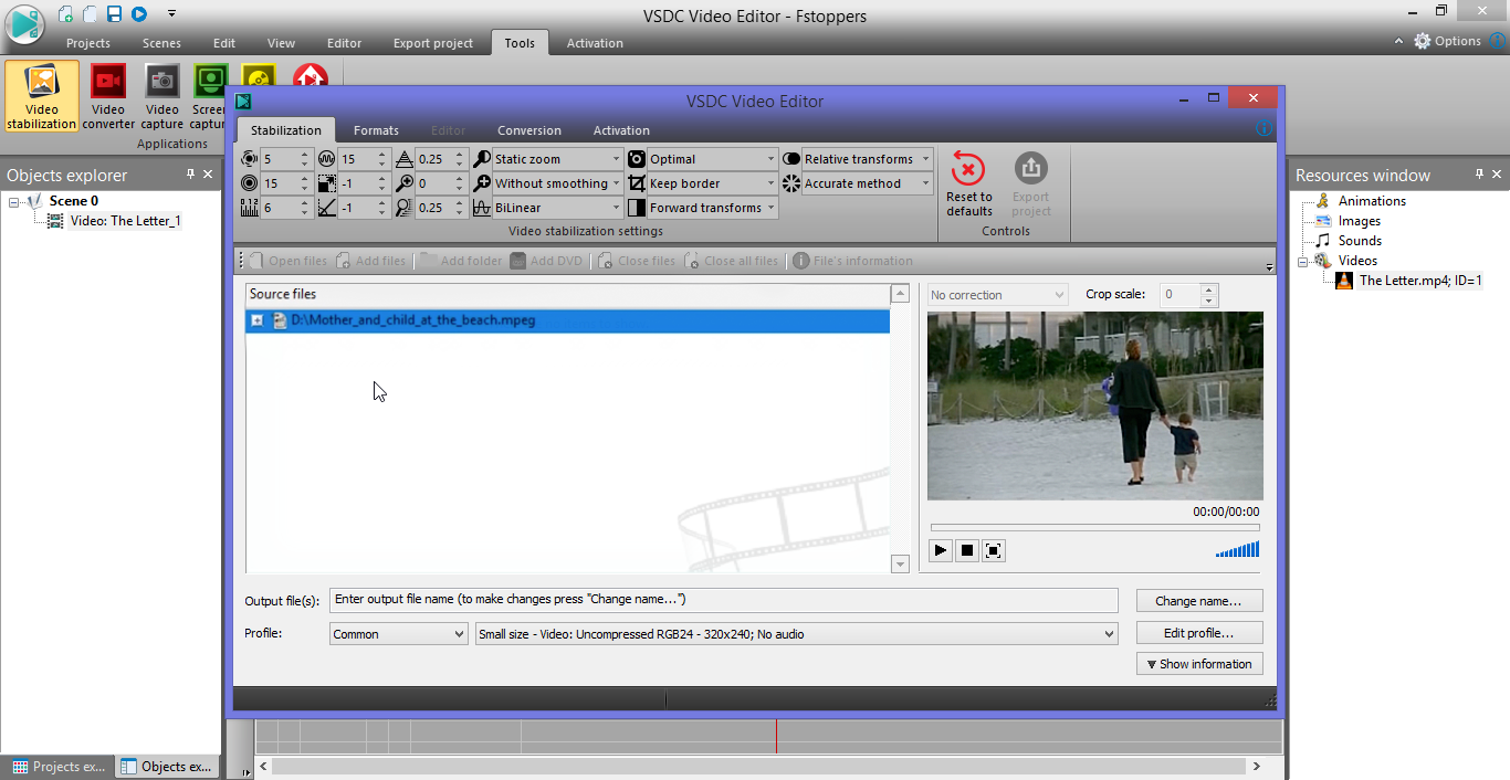 video stabilizer software free
