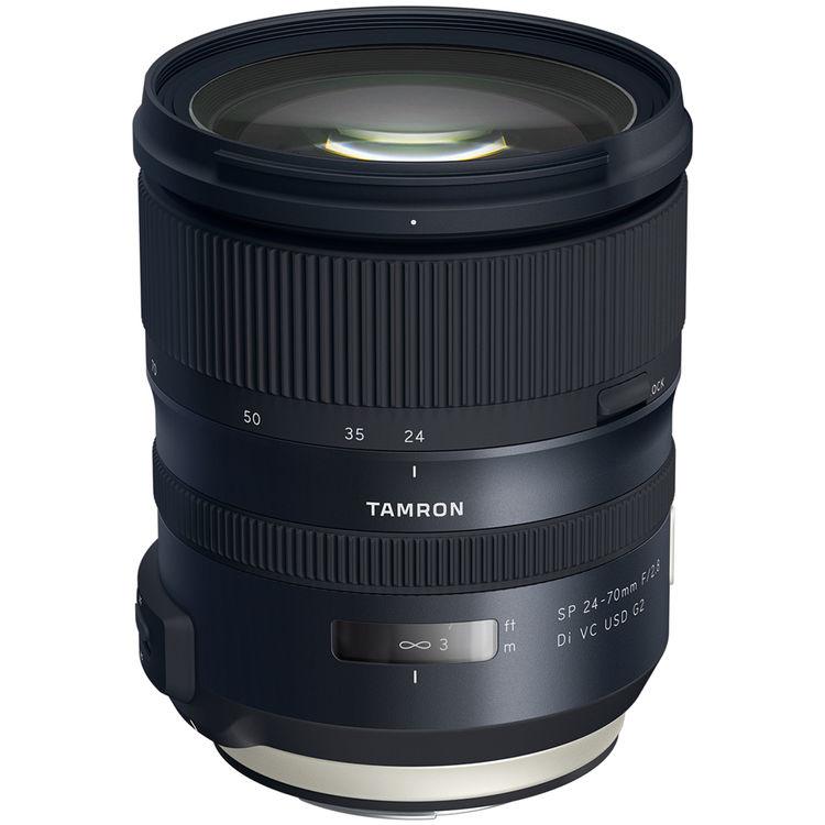 tamron announces sp 24 70mm f 2 8 di vc usd g2 lens. Black Bedroom Furniture Sets. Home Design Ideas