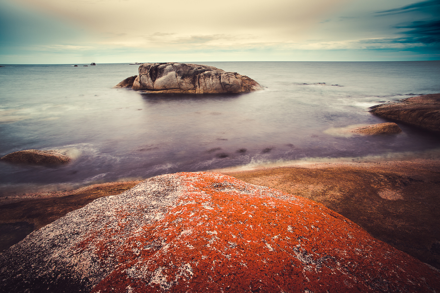 Seascapes, long exposures, slow shutter speed, landscape