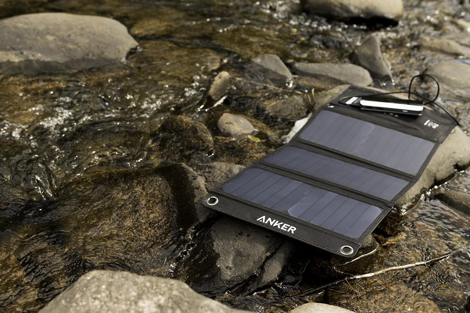 Fstoppers Reviews The Anker 21w Powerport Solar Charger There Have Been Plenty Of Companies Selling Panel Charging Kits For Several Years Now But Often If Youre Not Putting Together A Large Expedition Or
