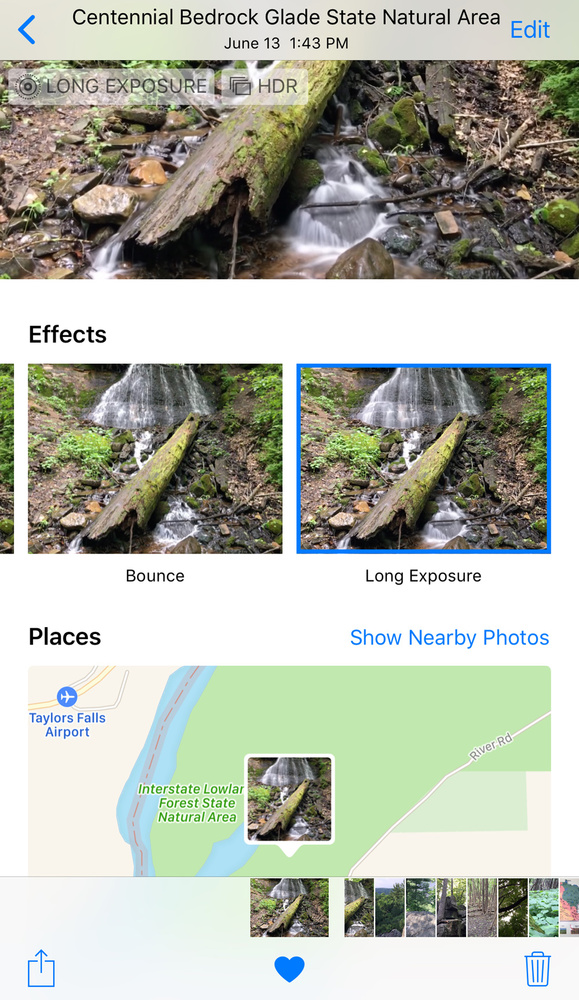 how to add effects to images in iphone