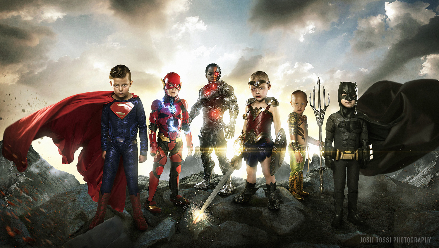 Photographer Gives New Meaning to the Justice League
