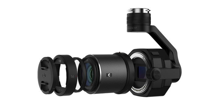 What Are the Differences Between the DJI Zenmuse X5S and X7