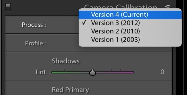 PSA: Don't Sweat the New Process Version In Lightroom Classic CC