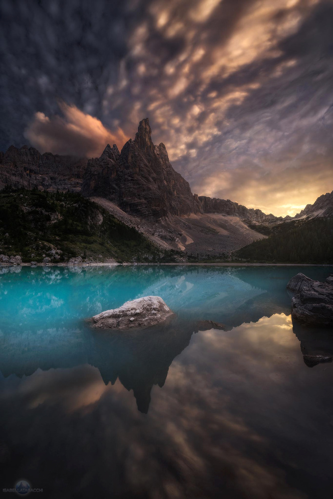 Lake Sorapis by Isabella Tabacchi