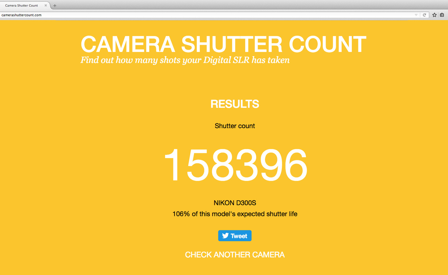 Find Out How Long It Is Before Your Camera Will Die | Fstoppers