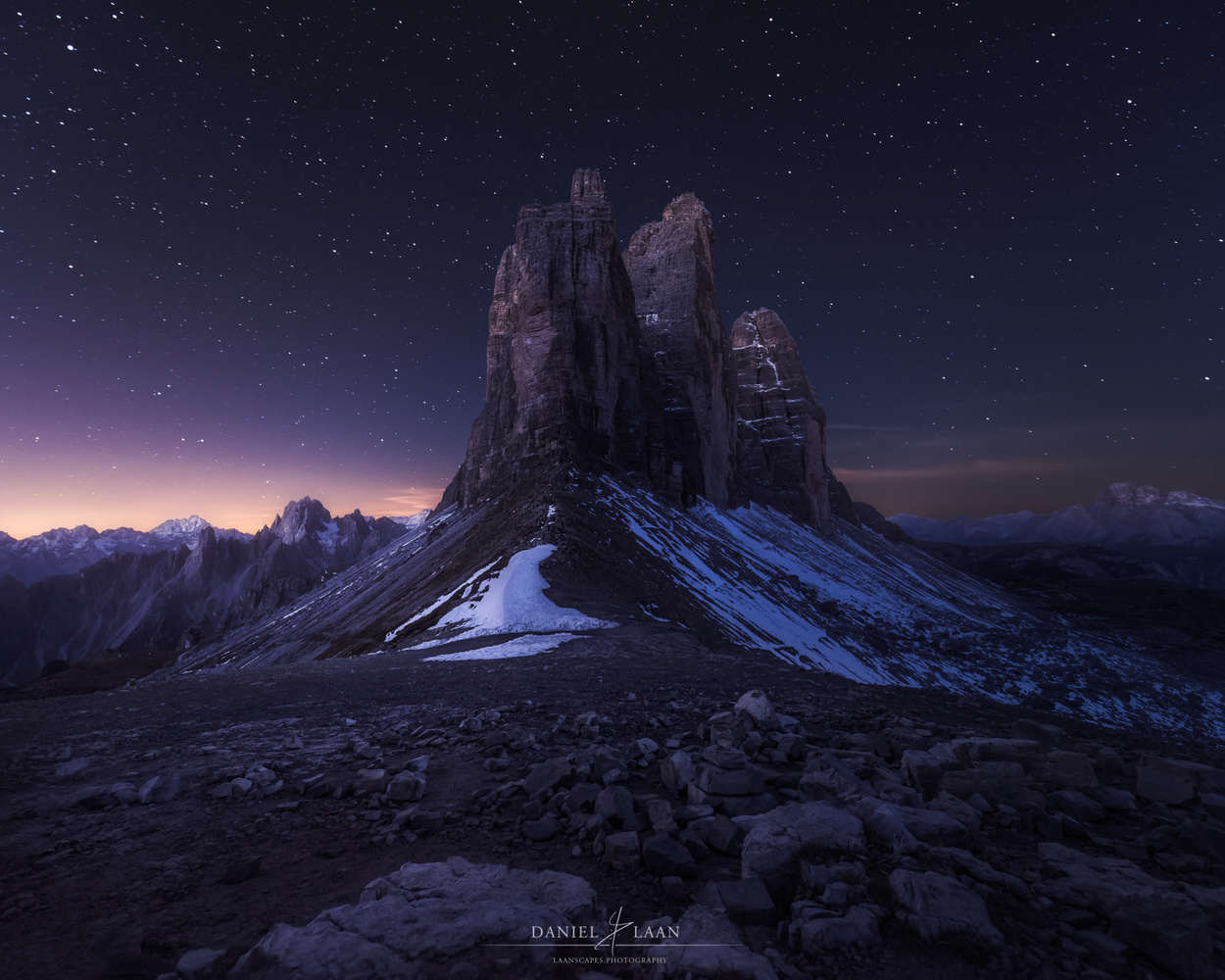 Tre Cime by Night
