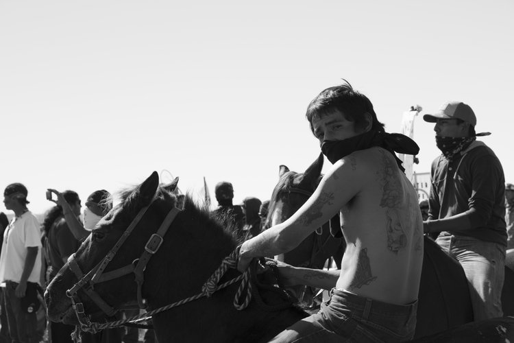 Dakota Access Pipeline, Standing Rock, North Dakota, 2016.