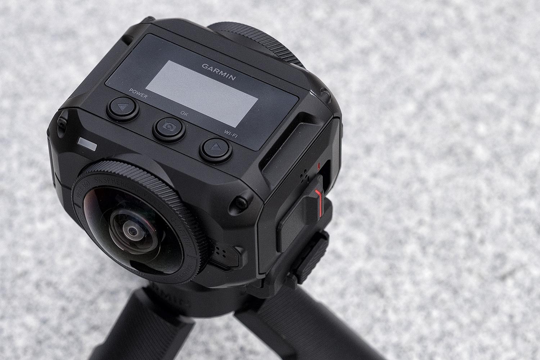 Garmin VIRB 360 buttons