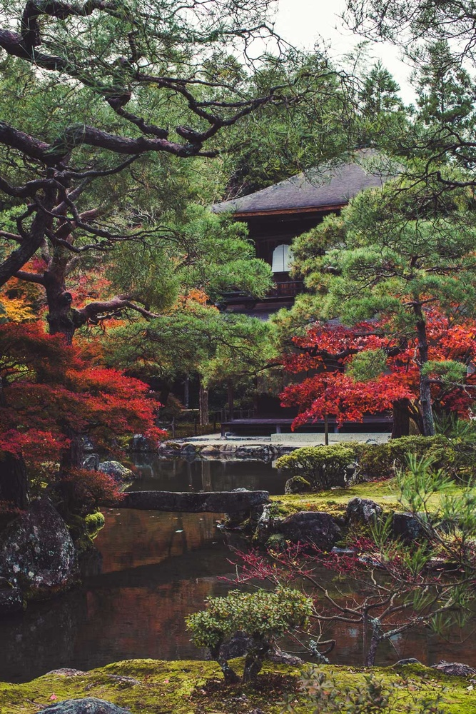 Ginkakuji (Silver) Temple