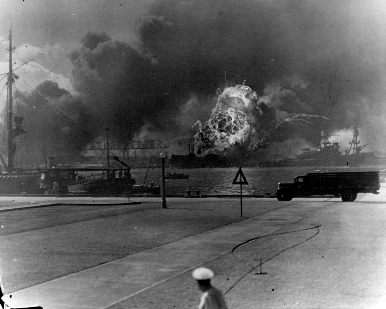 pearl harbor bombed by japanese planes This page features views of japanese carrier planes in action during the pearl harbor attack, and crashed japanese planes after the raid.