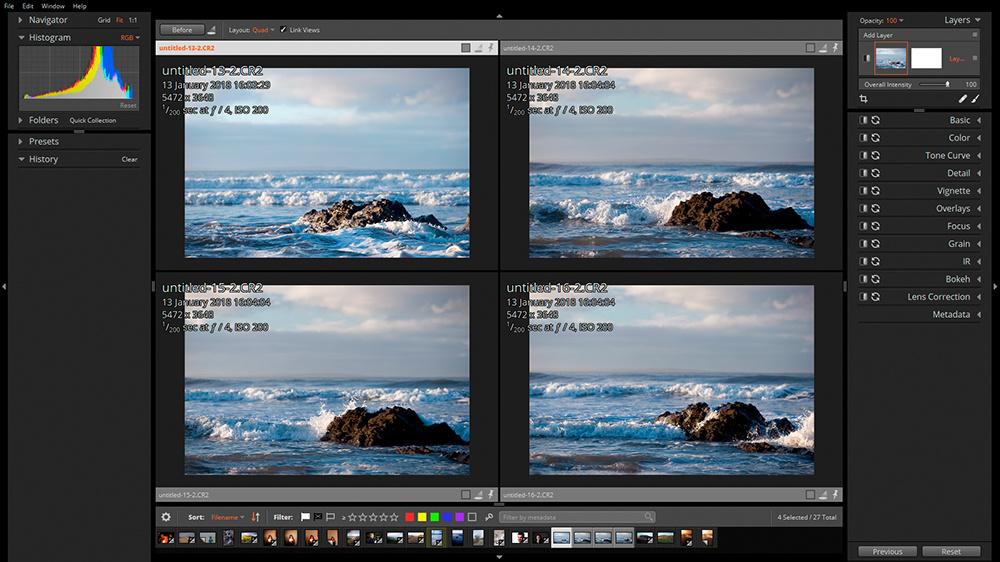 ailen skin exposure X3. raw photo editing software.
