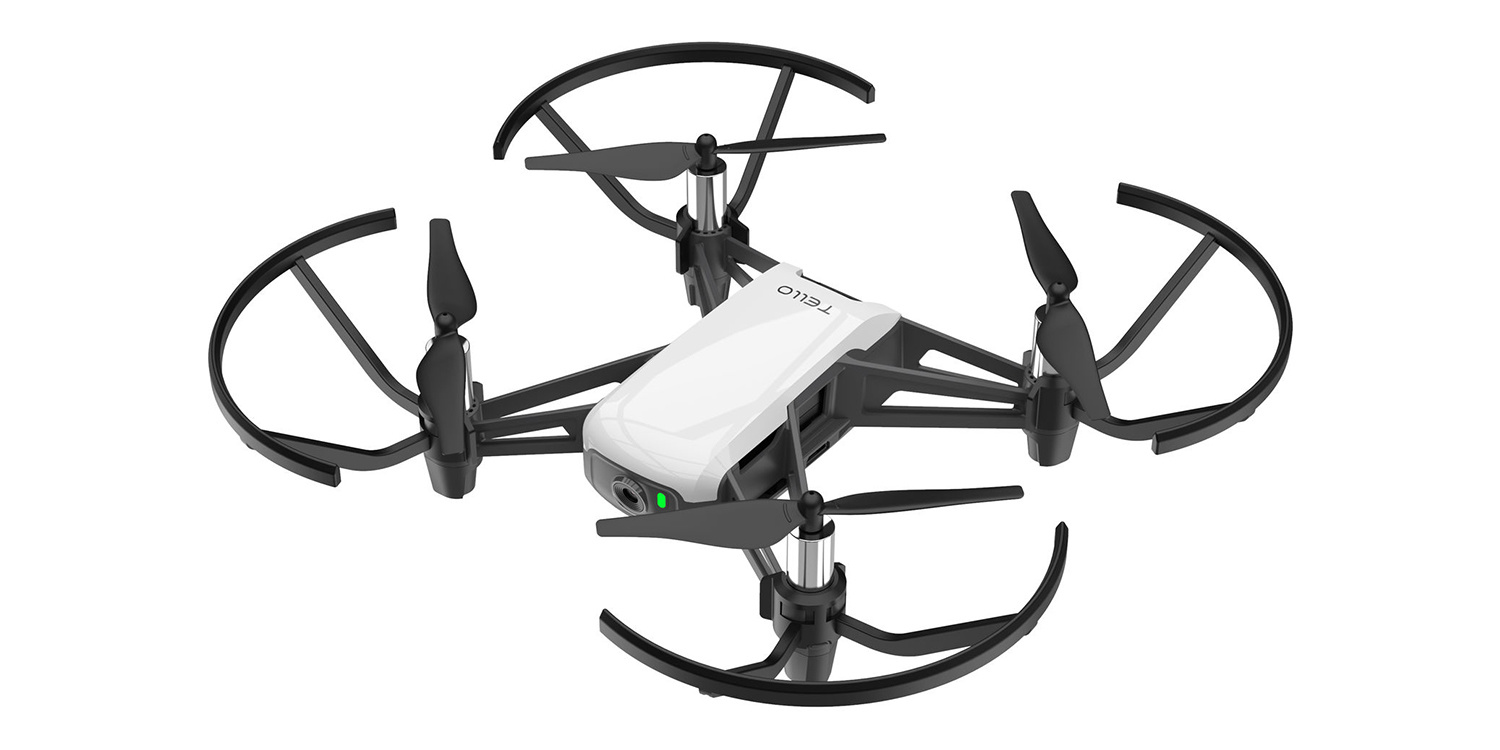 The DJI Ryze Tello A 100 Micro Drone Produced By Tech In Partnership With Intel And
