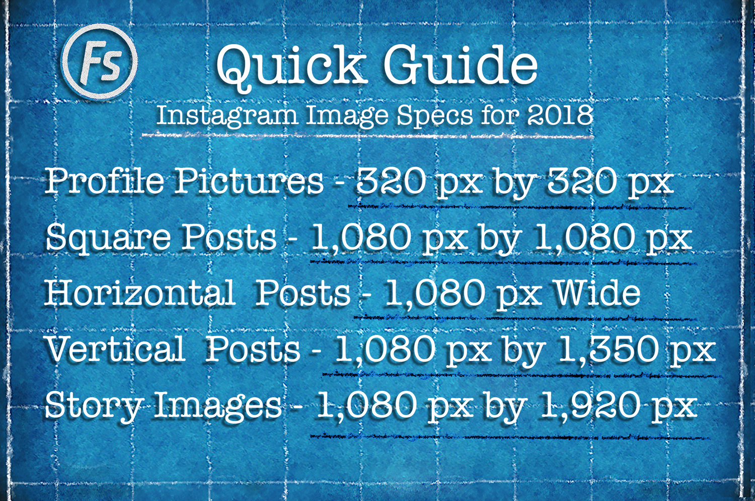 Instagram Image Sizes for 2018: Download These Free
