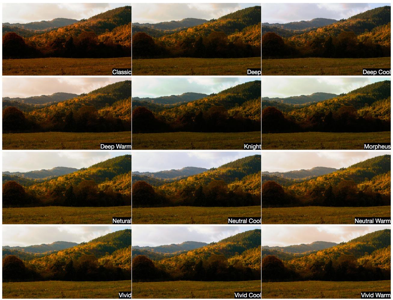 PolarPro Elektra LUTs applied on Canon C-Log footage