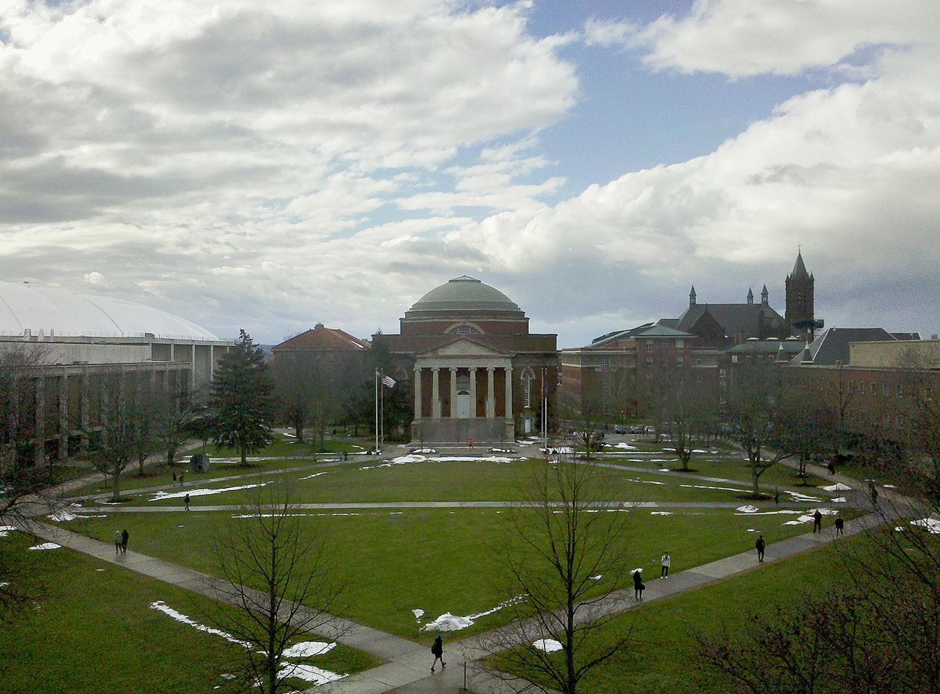 Motorola Droid photo of Syracuse University