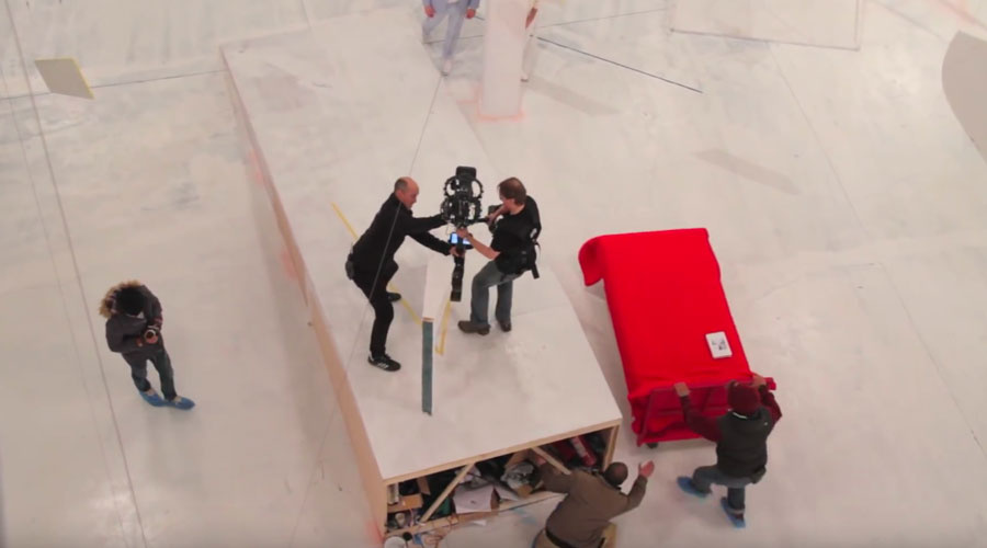 BTS of OK Go's Red Star Macalline Commercial